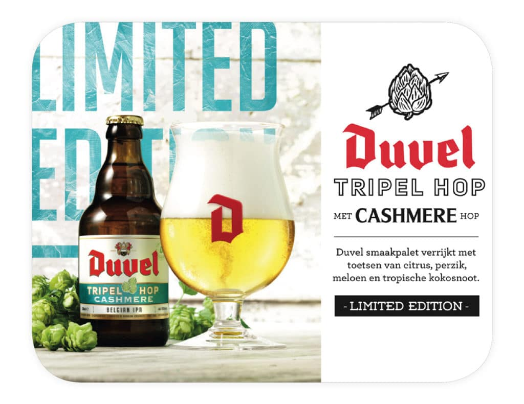 Duvel Tripel Hop Cashmere coaster